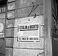Aanplakbiljet dat vermeldt dat Stalin overleden is, Bestanddeelnr 254-2062.jpg