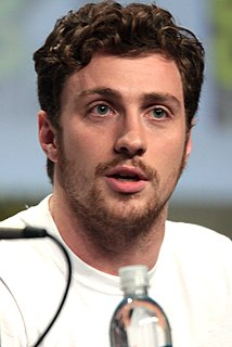 Aaron Taylor-Johnson English actor