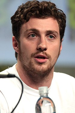 Aaron Taylor-Johnson i juli 2014.