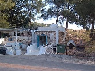 Abba Hilkiah - Tomb sites attributed to Abba Hilkiah and  Hanan ha-Nehba, both grandchildren of Honi HaM'agel