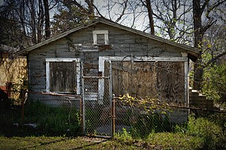 Africatown - Abandoned house in Africatown
