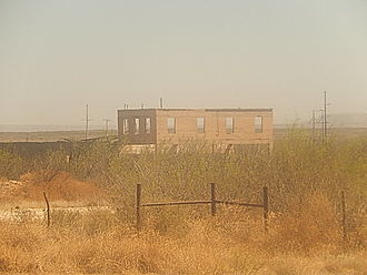 Girvin, Texas - Abandoned structure in Girvin