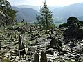 Abandoned slate quarry on Castle Crag - geograph.org.uk - 1014446.jpg