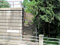 Abandoned staircase at Edgewood MARC station.JPG