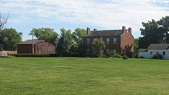 National Register of Historic Places listings in Clark County, Indiana - Image: Abbott Holloway Farm at Bethlehem