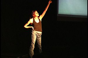 Elastic Future - Erin Carter in Abducted for the San Francisco Fringe Festival
