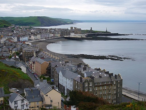 Aberystwyth from Constitution hill 1