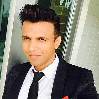 Abhijeet Sawant Indian singer and television anchor
