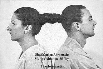 Marina Abramović - Marina Abramović and Uwe Laysiepen 1978