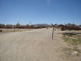 Abra Pampa - A level crossing in Abra Pampa