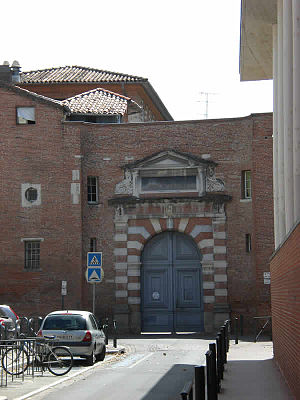 Academy of Toulouse -  Academy of Toulouse. The monumental entrance.
