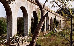 L'Acquedotto di Colognole presso il Cisternino di Pian di Rota