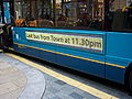 Active advert display on an Arriva Optare Solo bus in Darlington 5 May 2009.JPG
