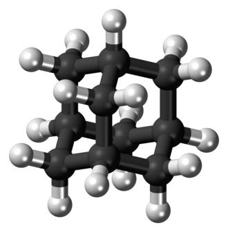 Adamantane - Image: Adamantane 3D ball