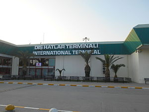 Adana Şakirpaşa Airport - International Terminal