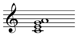 Jazz chord - Image: Add 6 chord on C