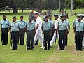 Adm. Walsh reviews the Papua New Guinea Defence Force (PNGDF) Honor Guard (5888997591).jpg