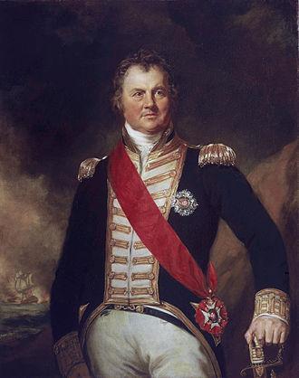Edward Thornbrough - Admiral Edward Thornborough (Samuel Lane, 1821)
