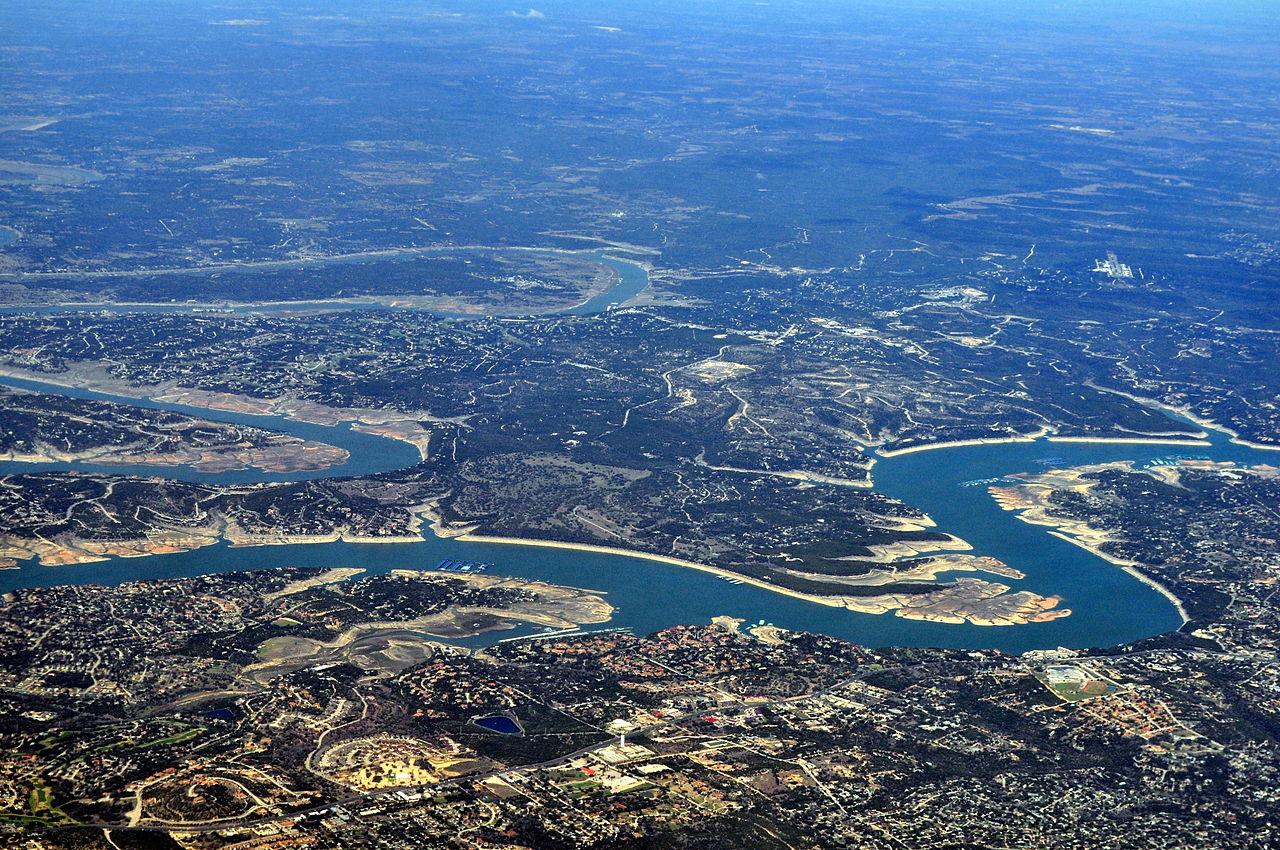 File:Hippie Hollow Park, Austin TX, March 1996 - View