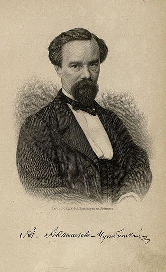 Alexander Afanasyev-Chuzhbinsky - Image: Afanasiev Chuzhbinskiy