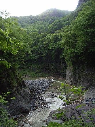 Agatsuma River - Agatsuma River at Agatsuma Valley