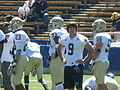 Aggies on field before UC Davis at Cal 2010-09-04.JPG