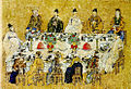 Ahn Jungsik-The commemorative feast for Treaty of Commerce between Korea and Japan in 1883.jpg