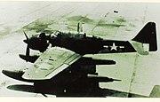 Aichi E16A captured