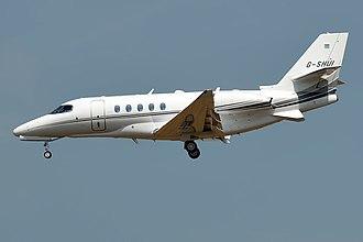 Cessna Citation Latitude - Image: Air Charter Scotland, G SHUI, Cessna 680A Citation Latitude (44389250211)