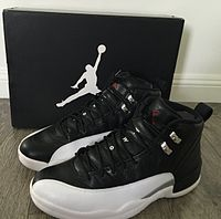 quality design baf2a fe959 Nike Air Jordan XII, (Playoffs Colorway)