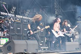 Airbourne bei Rock am Ring 2017