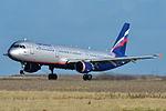 Airbus A321-200 Aeroflot (AFL) VP-BWO - MSN 2337 - Named Peter Chaikovsky (9234551494).jpg