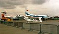 Aircraft on display - Paris Air Show 1991.jpg