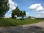Airplane near P53 road (Latvia).jpg