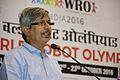 Ajoy Kumar Ray Addresses - Inaugural Session - Indian National Championship - WRO - Kolkata 2016-10-23 1351.JPG