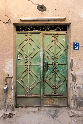 Qatari art - An example of historical architecture in Al Najada