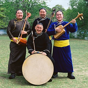 Tuvan throat singing - The Alash Ensemble