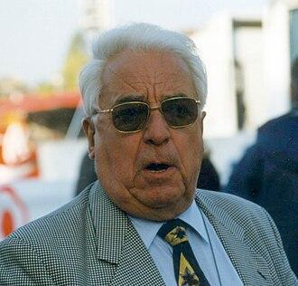Albert Bouvet - Albert Bouvet at 1997 Paris–Tours