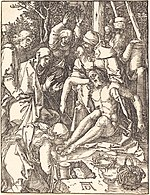 Albrecht Dürer, The Lamentation, probably c. 1509-1510, NGA 6777.jpg