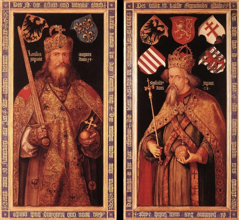 Albrecht Dürer - Emperor Charlemagne and Emperor Sigismund - WGA06997