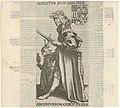 Albrecht III Albertvs dvx saxoniae archigvbernator frisiae (titel op object) Friese heersers (serietitel), RP-P-1905-5756.jpg