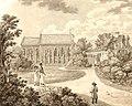 Aleksander Majerski - Widok kościoła w Służewie 1818.jpg