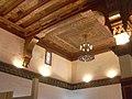 Aleppo (Halab), Mamlukisch gestaltete Decke (13. Jh.)auf der Zitadelle (Qal'at Halab) (38674530282).jpg