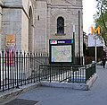 Alesia Metro Station In The 14th Arrondissement, Paris April 2014.jpg