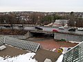 Alewife Brook Parkway underpass at Alewife station, March 2017.JPG