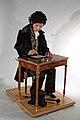 Alexander Pushkin automaton android by François Junod.JPG
