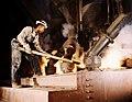 Alfred Palmer, Phosphate smelting furnace worker, Muscle Shoals, Alabama, 1942.jpg