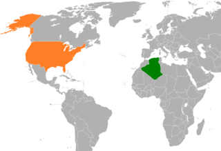 Algeria–United States relations Diplomatic relations between the Peoples Democratic Republic of Algeria and the United States of America