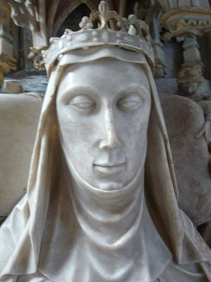 Alice Chaucer, Duchess of Suffolk - Alice de la Pole, from her tomb at Ewelme Parish Church, Oxfordshire