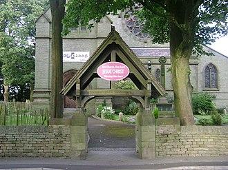 All Saints Church, Marple - Image: All Saints Church, Marple 04